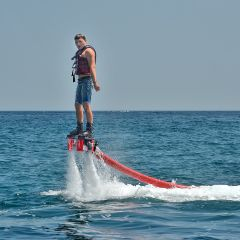 Iron Man Dreams: Flyboarding Experience in Dubai with Optional Private Transfers Upgrade